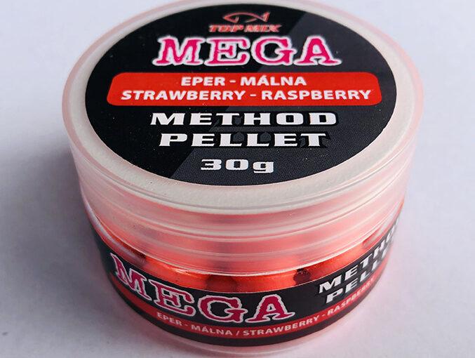 MEGA Method Pellet, Eper-Málna