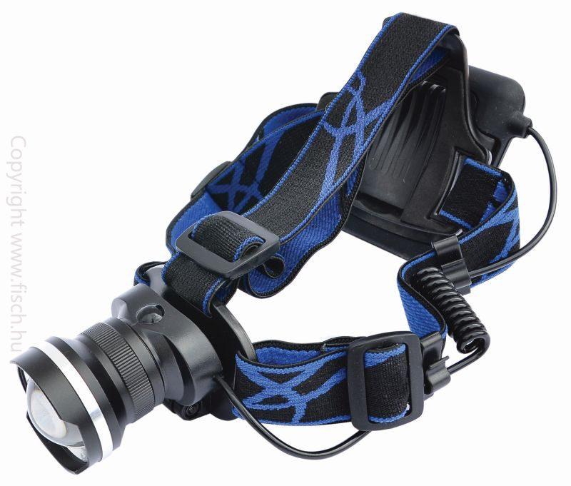 Fejlámpa, horgász lámpa, zoomolható fejlámpa