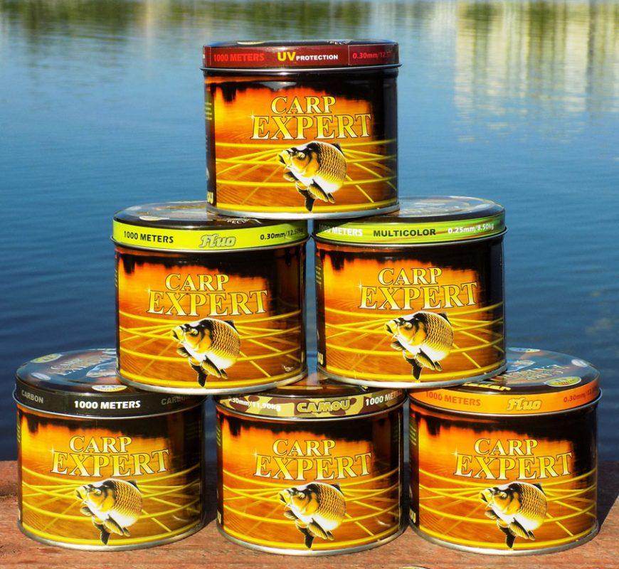 A Carp Expert pontyozó horgász zsinórjai
