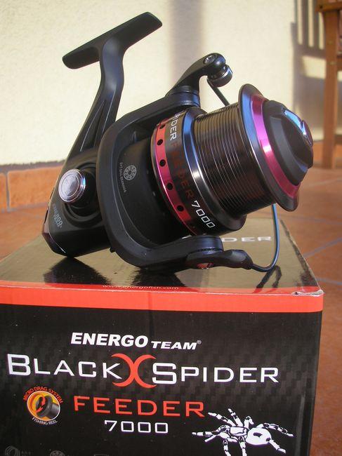 ET Black Spider Feeder 7000. Az összkép: letisztult és nagyon is szerethető !