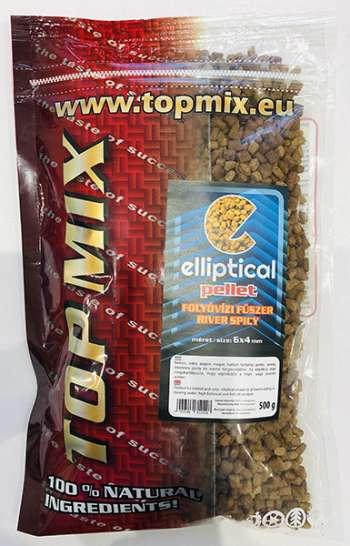 Top Mix ELLIPTICAL Pellet Folyóvízi fűszeres