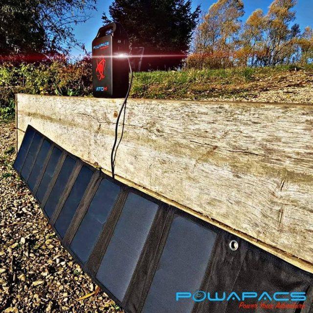 PowApacs Sunpower 60W Solar Panel_1